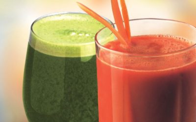 Juicing to detox at Radiant Yoga Marbella